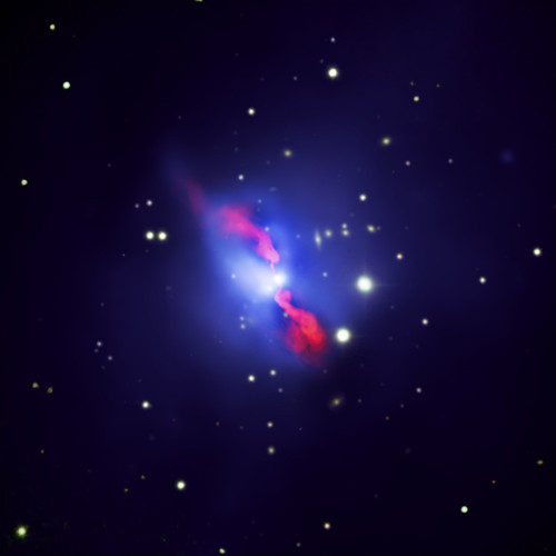 Hydra A: Black Hole Pumps Iron (NASA, Chandra repost, 09/14/09)