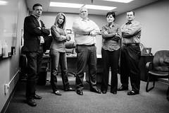 CPI President & Staff (alexlupo.) Tags: portrait people blackandwhite monochrome corporate gritty groupportrait grungy