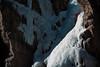 Scottish Gullies - Lee Bialik Climber (Amicus Telemarkorum) Tags: winter rock colorado shadows february iceclimbing ouray 2014 jeffrueppel climbergirl advancedyetiproductions scottishgullies