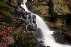 Lumsdale (djshoo) Tags: england woodland waterfall derbyshire wideangle matlock 2014