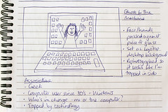 Day #2250 (cazphoto.co.uk) Tags: paper notebook sketch drawing laptop planning project365 canoneos100d canon1855mmeff3556isstm beyond2192 270214
