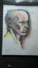 Life drawing (Irit Levy - Mainly art) Tags: charcoal lifedrawing humanfigure iritlevy