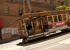 Cable car, San Francisco (chloe & ivan) Tags: sanfrancisco ca dayofthedonut