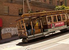 Cable car, San Francisco (chloe & ivan) Tags: sanfrancisco ca dayofthedonut