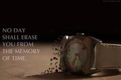 138/365 - Regardless of time (Aurora Frascaro) Tags: clock broken pieces time 911 memory groundzero aeneid virgil erase project365 nikond5100