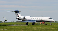 United Co. G-V departing Shannon N15UC (birrlad) Tags: private airplane airport aircraft aviation united airplanes jet shannon co passenger gulfstream gv bizjet snn glf5 n15uc