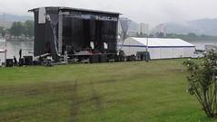 Linz (austrianpsycho) Tags: linz stage zelt linzfest abbauen bühne aufräumen bühneimdonaupark linzfest2014