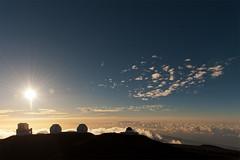Big Island (AdrienG.) Tags: sky mer stars island volcano hawaii lava big nikon space observatory ciel summit 24 nikkor 70 f28 espace afs lave etoiles volcan sommet hawa  d700 observatoires