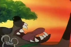 Ed Opening Up Wide (qwertyuiop767) Tags: show television tongue mouth ed tv open teeth cartoon wide maw disney eat series animated hungry drool trio swallow fangs devour hyena gaping banzai slobber timon shenzi vore saliva pumbaa