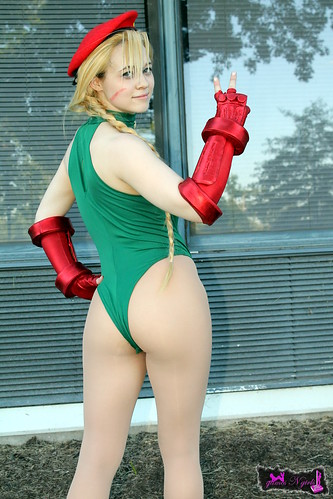 Remarkable, this Street fighter cammy cosplay ass