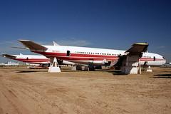 Ex-TWA 707-331B, N8725T (Ian E. Abbott) Tags: aircraft jet boeing 500views 707 boneyard twa airliner boeing707 davismonthan amarc davismonthanafb jetairliner 18918 transworldairlines masdc lostwings amarg derelictaircraft aircraftstorage 707331b desertboneyard aircraftscrapping cn18918 n8725t