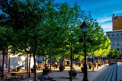 I9039- Place de la Dauversière (BLEUnord) Tags: summer canon place montréal space été espace vieuxmontréal 2014 dauversière
