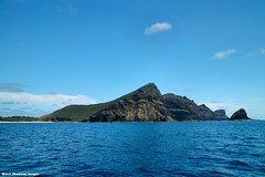 View to Malabar Hill - Lord Howe Island Circumnavigation (Black Diamond Images) Tags: mountains island boat paradise australia cliffs nsw boattrip circumnavigation lordhoweisland malabarhill worldheritagearea admiraltyislands thelastparadise circleislandboattour