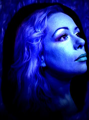 Deep Blue Sea (Bird Paradise) Tags: ocean arizona portrait selfportrait art girl mermaid siren bluegirl colorart deepbluesea watergirl arizonawater oceaninarizona artisitcportrait