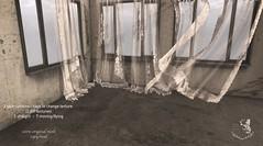 ::KKs:: 2 lace curtains pack @Ultra (Natacha Haroldsen - Knick Knacks) Tags: curtains lace ultra vintage secondlfe