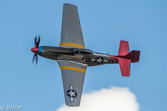 P-51D Mustang 'Tall in the Saddle' - Old Warden Season Finale Airshow (harrison-green) Tags: old warden shuttleworth collection air show airshow 2016 edwardian pageant aircraft aviation world war 2 two ii display shgp steven harrisongreen photography canon eos 700d sigma 150500mm 18250mm de havilland comet racer plane race grosvenor house outdoor vehicle airplane sunset roaring 20s twenties finale p51 p51d mustang tall saddle tuskegee airmen airman black fighter pilot african american north top side topside