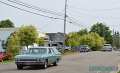 if only (Ultrachool) Tags: antique car vintage vehicle 1965 chevrolet 1958 mercury monarch hillsborough newbrunswick canada
