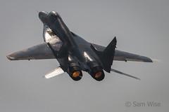 Korean Peoples Army Air Force MiG-29 Fulcrum (Sam Wise) Tags: wonsan air festival 2016 dprk north korea democratic republic peoples airplanes aeroplane mig29 fulcrum mig vehicle aircraft airplane outdoor jet