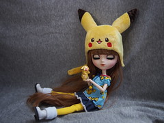 Pika... Pika... Pikachu (sh0pi) Tags: pikachu pokemon nintendo pullip doll puppe groove fashion merl pocket monster