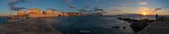 Gallipoli sunset (W.MAURER foto) Tags: italien italy italia italie apulien puglia panorama sunset sonnenuntergang seascape sea meer wasser stadt strand sonne clearsky sditalien tamron1530mmf28 tamron1530f28vc gallipoli