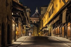 Ponte Vecchio at dawn (reinaroundtheglobe) Tags: pontevecchio florence historicalcity historical oldcity old street bridge longexposure nightphotography italy