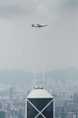 Goodbye Cathay B747 CX8747 (altinomh) Tags: goodbye cathay b747 cx8747 pacific boeing jumbo farewell flight cx 747 b747400 b744 hong kong victoria harbour fly pass aviation plane aircraft