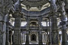 Ranakpur Jain Temple (Baron Reznik) Tags: architecture asia asien colorimage hdr horizontal india jain jaindharma jainism landofkings marble peaceful prasat rajasthan ranakpur ranakpurjaintemple religion republicofindia sonyfe24240mmf3563oss spirtuality temple wideangle