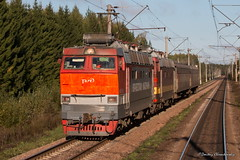 4-243 (dm35ru) Tags: russia vologdaregion railroad railway train electriclocomotive locomotive russianrailways rzd chs4t