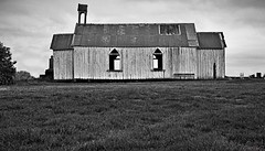 Church of days past... (fotonut NZ) Tags: old church condemned past outdoor monochrome whakatane mill blackandwhite