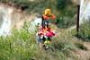 Beachy Head, a sad memorial. (Heaven`s Gate (John)) Tags: beachy head sad memorial england coast cliffs johndalkin heavensgatejohn grass drop suicide doll edge landscape