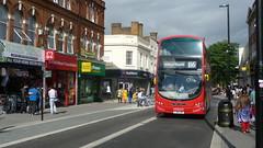 Hounslow High Street hybrid (bobsmithgl100) Tags: londonunited vh45 lj15 lae lj15lae volvo b5lh wright gemini 2 bus route116 highstreet hounslow greaterlondon