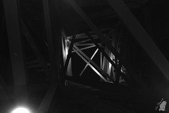 structura2 (Blue_Photography) Tags: estructura gugemhaim bilbao noche blanco y negro monocromo