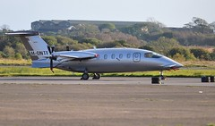 M-ONTE (goweravig) Tags: monte piaggio avanti swansea wales uk aircraft visiting swanseaairport p180 bizprop