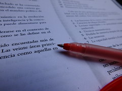 Red Pen and Text (Jos Miguel S) Tags: redpen text document education words page information redink review revisin tintaroja documento palabras texto