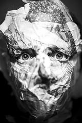 055/365 (edgardomaxia) Tags: project365 365 nikon paper mask eyes black white blackandwhite 50mm