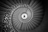 The Tulip Staircase (Richard Reader (luciferscage)) Tags: 2016 fuijifilmxt1 fujixt1 greenwich london october architecture queenshouse tulipstaircase tulipstairs spiral inigojones blackandwhite bnw monochrome mono tulip iron stairs explore