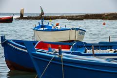 Sagitario (Mrs Bec) Tags: boats sea rowingboat italy sanvito puglia canon6d summer europe