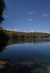 Lake Eacham - Far North Queensland Australia (Becc T) Tags: becctphotography becct fnq q queensland lake volcaniclake water sky northqueensland beautifulclearwater