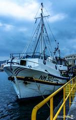 Fishing Boat (VSoultanis Photography) Tags: fishing fishingboat mytilene mytileneport port anchor lesvos lesvosisland samsung samsunga5 visitlesvos greece visitgreece travelgreece