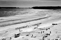 A Tug of War (seamus_0) Tags: tenby wales beach blackandwhite lpoty takeaview