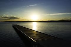 Warners Bay Foreshore, Sunset. (emmagrant_) Tags: newcastle nsw australia warners bay lake macquarie sunset colour nikon photography
