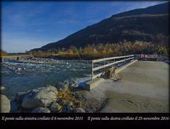 Dopo l'alluvione 1 e 2 (celestino2011) Tags: ponte alluvione fiume crollo