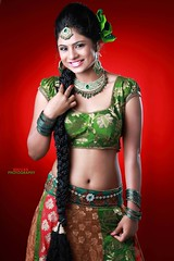 South Actress Deepika Das Traditional cum Hot Photos Set-3 (2)