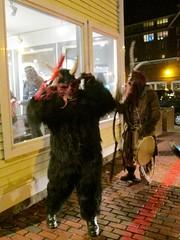 Salem Krampuslauf 2016 2 (Cutting Monkey) Tags: krampus krampuslauf salem costume horns demon