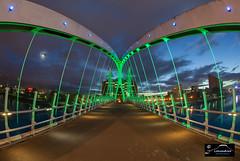 Lowry Bridge (Lancashire Photography.com) Tags: lowry bridge salford quays