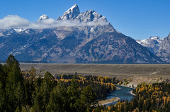 Grand Teton National Park (nebulous 1) Tags: grandtetonnationalpark grandtetonnp gtnp wyoming grandteton mountain snakeriver river clouds landscape nature water trees nikon nebulous1 glene