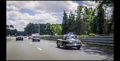 Jaguar XK 150 dans les Hunaudires (Laurent DUCHENE) Tags: peterauto lemansclassic 2016 bugatti parade jaguar hunaudires xk150 xk 150