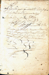 Carrion-Manuscript inscriptions-1576 (melindahayes) Tags: 1576 pa3001c3a51576 carrionlouis antiquarumlectionum octavoformat latin
