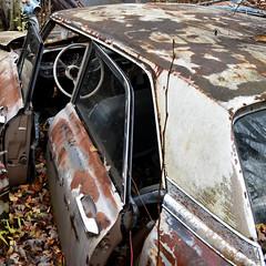 DSC_0144 v2 (collations) Tags: ontario mcleansautowreckers autowreckers wreckers automobiles autos abandoned rockwood derelict junkyards autograveyards carcemeteries