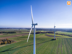 Suppingen (michab100) Tags: mib mibfoto michab100 michab luftaufnahmen luftbild aereal schwbischealb laichingen wind windrad